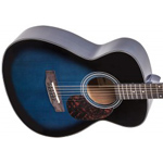 Aria ADF-01 Acoustic Guitar - Blue Shade