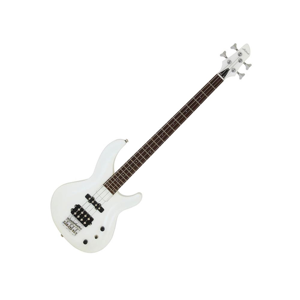 aria igb std bass guitar pure white aria bass guitars drum and guitar. Black Bedroom Furniture Sets. Home Design Ideas