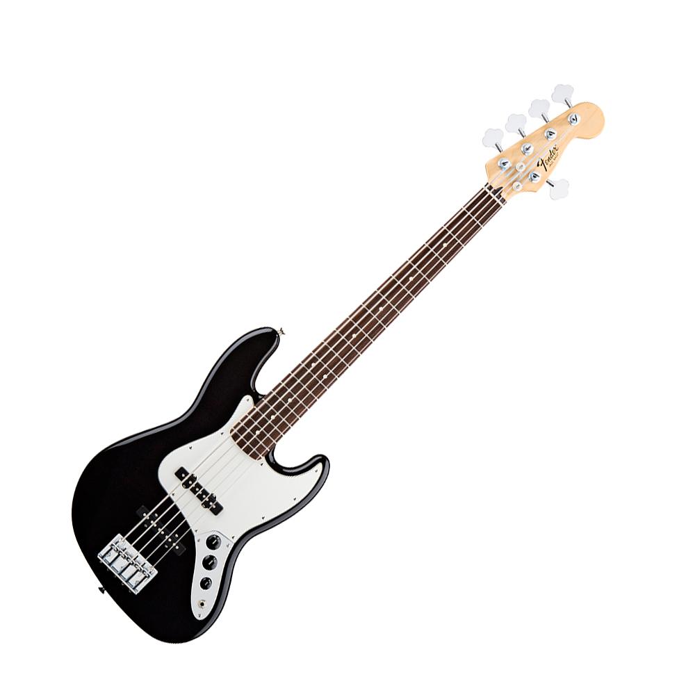 fender standard jazz bass 5 string black fender bass guitars drum and guitar. Black Bedroom Furniture Sets. Home Design Ideas