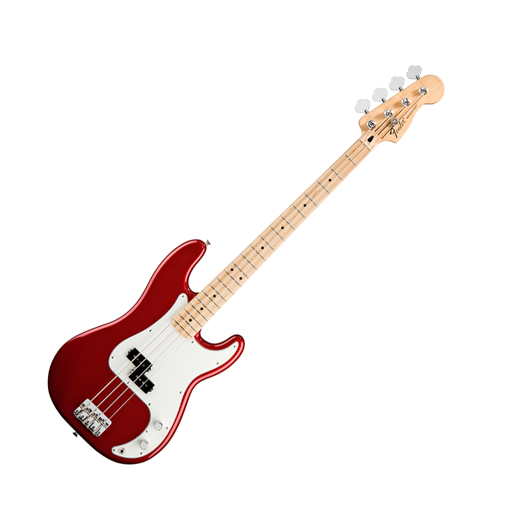 fender standard precision bass candy apple red mn fender bass guitars drum and guitar. Black Bedroom Furniture Sets. Home Design Ideas
