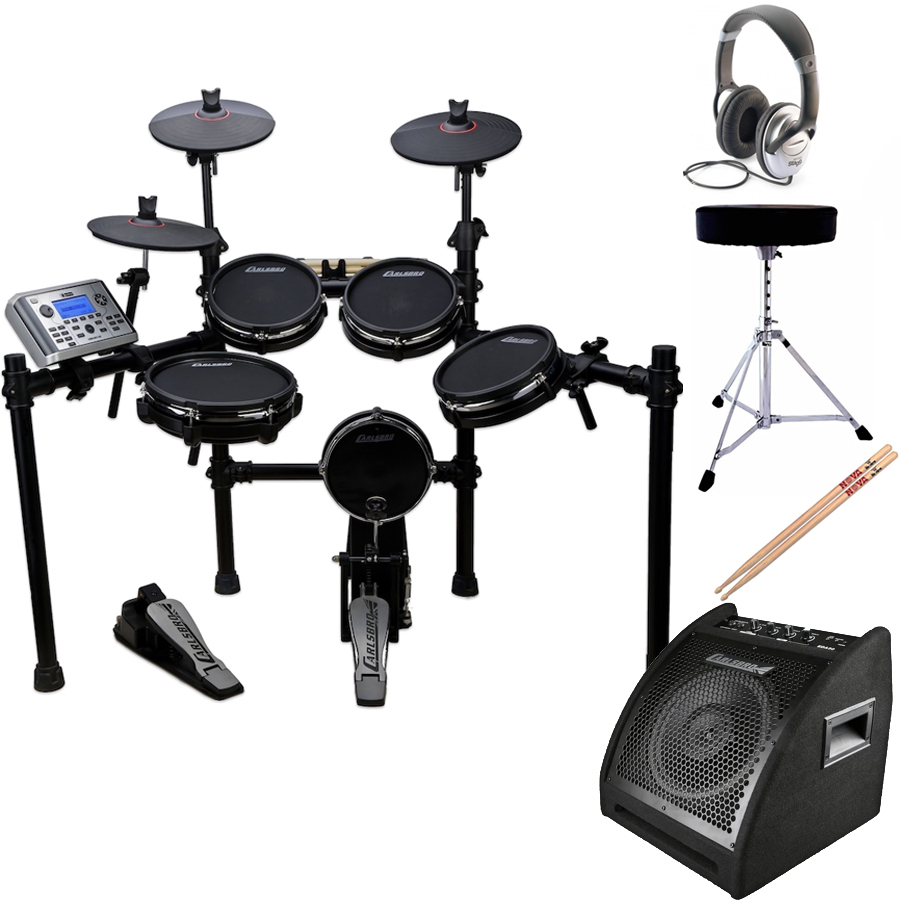 electronic drum kit nottingham carlsbro csd400 with amp carlsbro electronic drums drum and. Black Bedroom Furniture Sets. Home Design Ideas