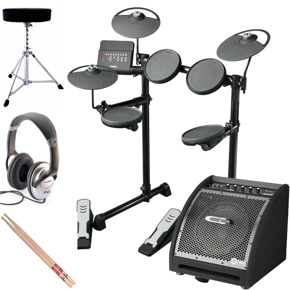 yamaha dtx400k nottingham electric drum bundle yamaha