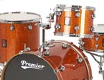 Premier Genista Maple Shellpack - Heavy Rock 22