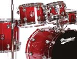 Premier Genista Maple Shellpack - Modern Rock 22