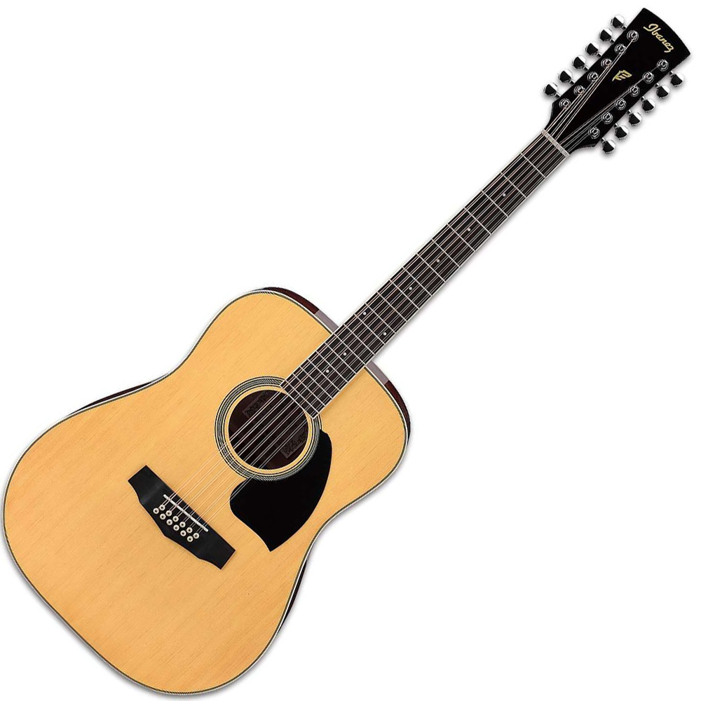 ibanez pf1512 nt 12 string acoustic guitar ibanez acoustic guitars drum and guitar. Black Bedroom Furniture Sets. Home Design Ideas