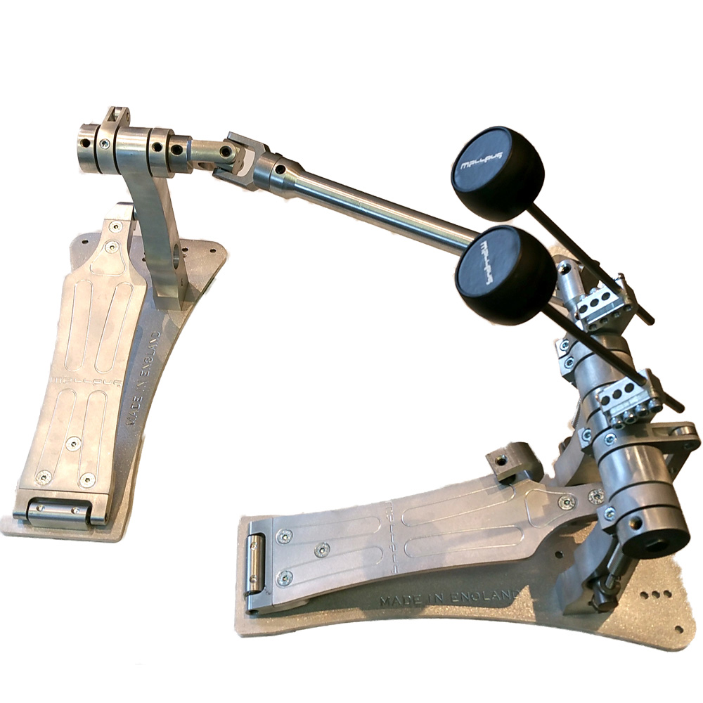 malleus bass drum pedal double rh malleus bass drum pedals drum and guitar. Black Bedroom Furniture Sets. Home Design Ideas