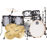 Mapex Storm 6 Piece Drumkit inc Paiste 101 Cymbals - Iron Grey