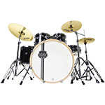 Mapex Horizon II HR5295 Rock Fusion Drumkit - Black