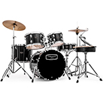 "Mapex Tornado 20"" Fusion Drum Kit - Black"