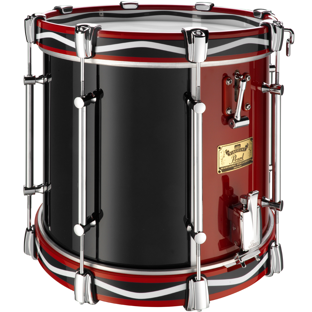 Pearl Viscount Military Snare Drum Twin