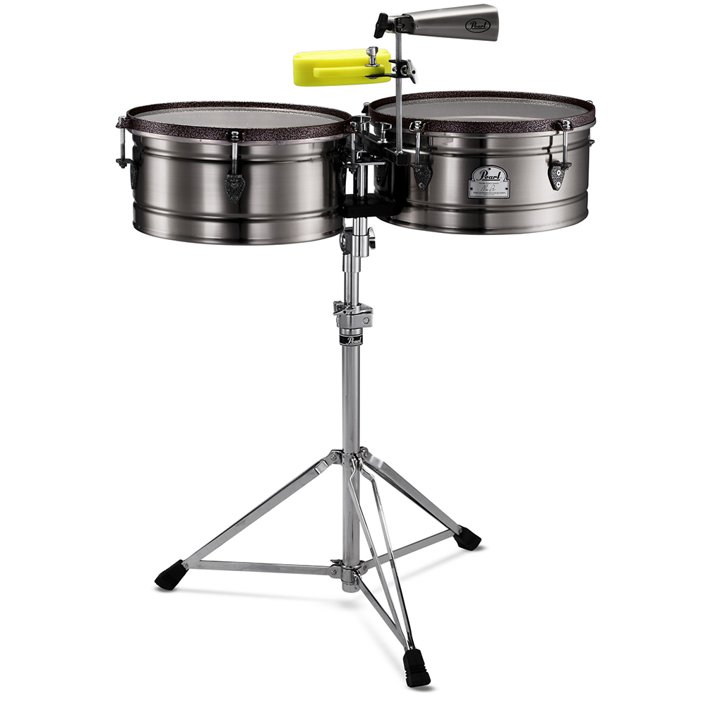 Pearl Marc Quinones Timbales Pearl Percussion Drum And