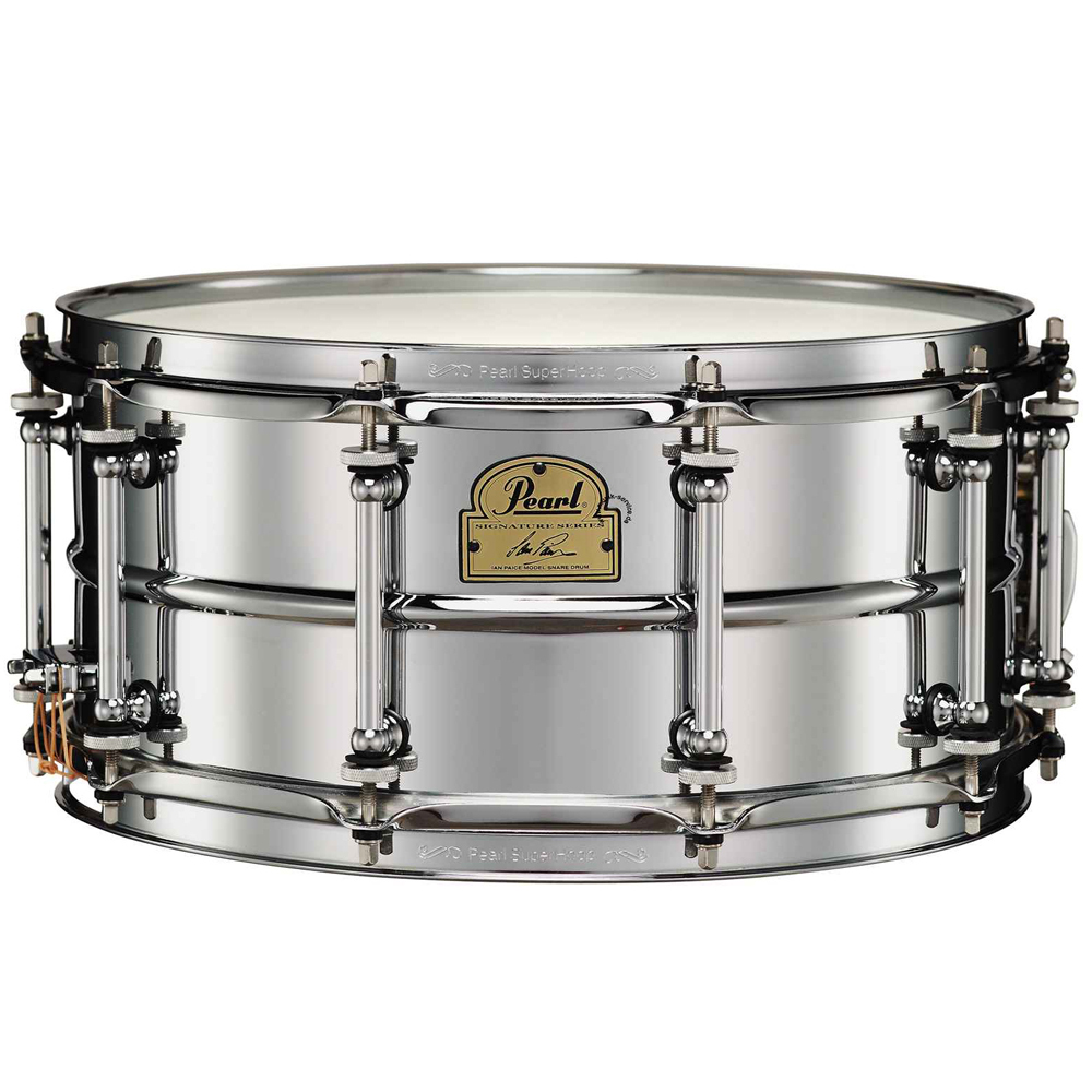 pearl drums nottingham ip1465 ian paice snare pearl snare drums drum and guitar. Black Bedroom Furniture Sets. Home Design Ideas