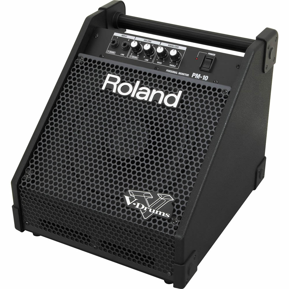 roland pm 10 monitor roland electronic drums drum and guitar. Black Bedroom Furniture Sets. Home Design Ideas