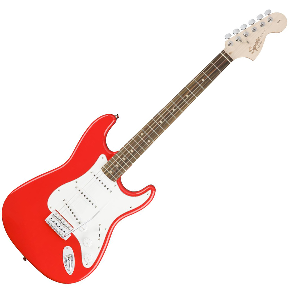 squier affinity stratocaster race red rw squier electric guitars drum and guitar. Black Bedroom Furniture Sets. Home Design Ideas
