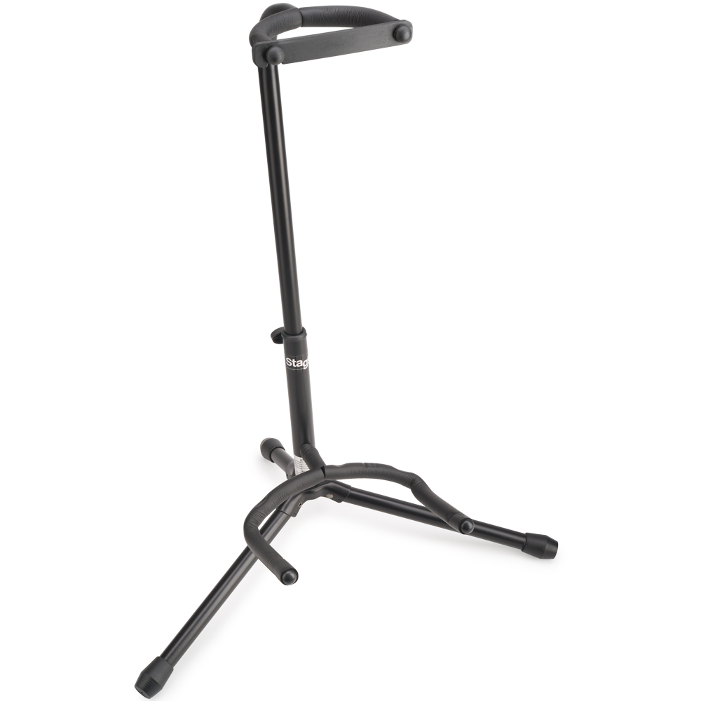 stagg sg a100bk guitar stand stands and holders drum and guitar. Black Bedroom Furniture Sets. Home Design Ideas