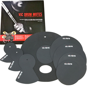 vic firth drum mutes 20 39 fusion mutepp5 practice pads silencers drum and guitar. Black Bedroom Furniture Sets. Home Design Ideas