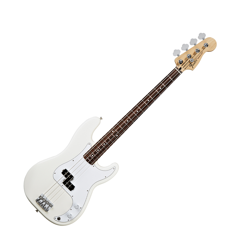 fender standard precision bass arctic white rw fender bass guitars drum and guitar. Black Bedroom Furniture Sets. Home Design Ideas