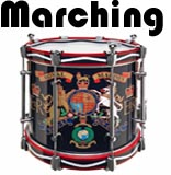 marching and parade drums department