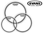 "Evans EC2 Clear Drumhead Pack - Fusion 10""12""14"""